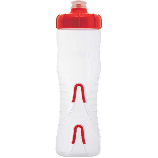 Fabric Cageless Flasche 750ml clear/red