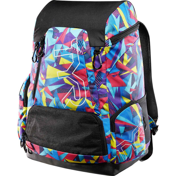 TYR Alliance Geo Print Backpack 45L pink/purple