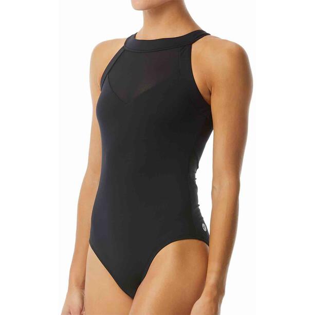 TYR Solid Eva One Piece Swimsuit Dam black