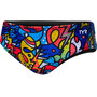 TYR Astratto Racer Brief Herr blue/multi