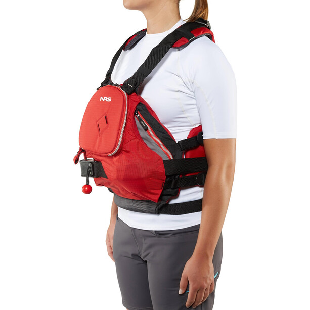 NRS Zen Rescue PFD Jacket red