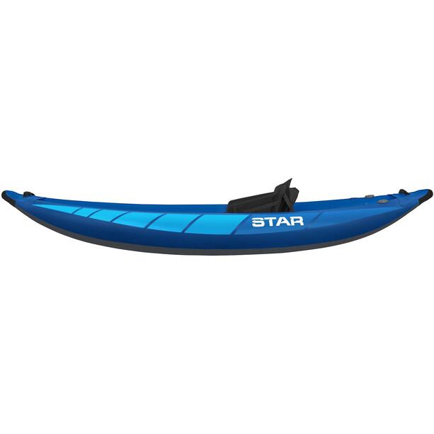 NRS STAR Raven I Inflatable Kayak blue