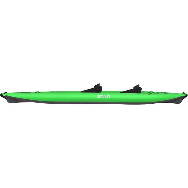 NRS STAR Paragon Tandem Inflatable Kayak lime