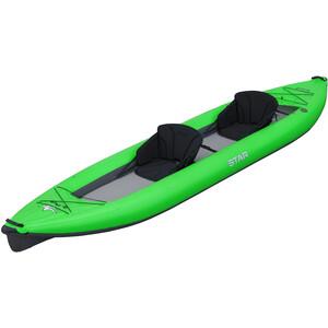 NRS STAR Paragon Tandem Inflatable Kayak lime lime