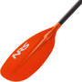 NRS Ripple Kayak Paddel 194cm black/red