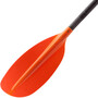 NRS Ripple Kayak Paddel 197cm black/red
