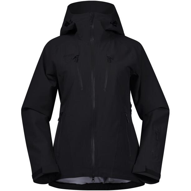 Bergans Oppdal Jacket Dam black/solid charcoal