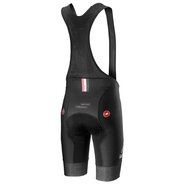 Castelli Giro d'Italia #102 Volo Trägershorts Herren nero