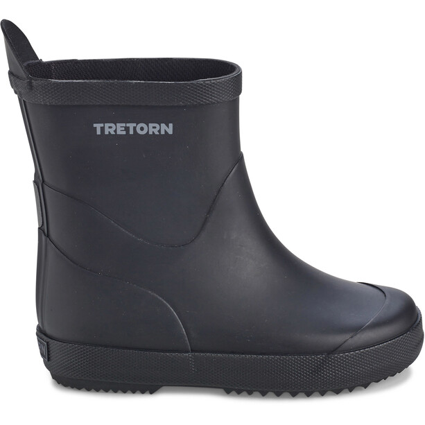 Tretorn Wings Monochrome Rubber Boots Barn black