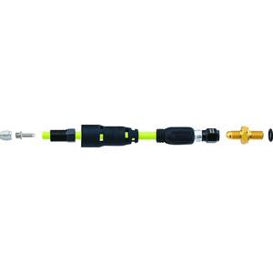Jagwire Pro QF Anschlussset für SRAM Guide Level TL/DB5 | Avid Elixir R/CR Mag/WC schwarz schwarz