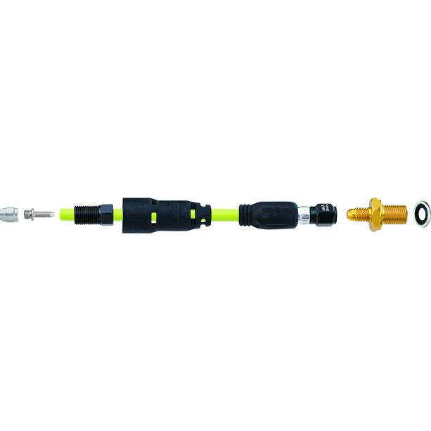 Jagwire Pro QF Kit de raccordement pour SRAM Level Guide | Avid Code/Elixir/Juicy, noir/jaune