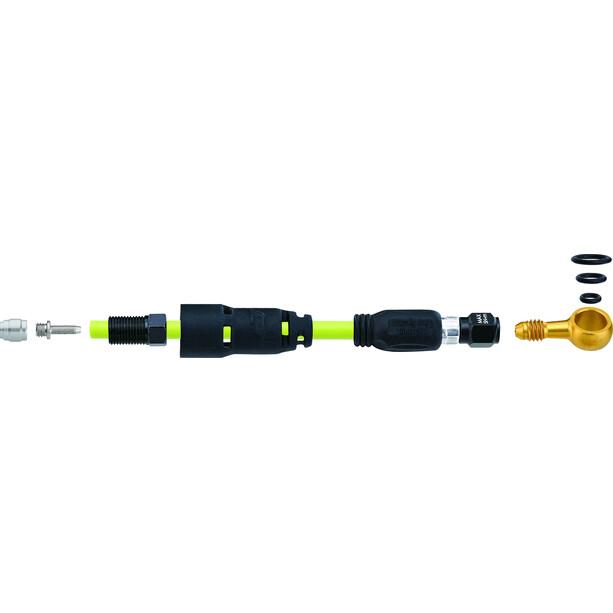 Jagwire Pro QF Forbindelsessæt til SRAM Level Ultimate/TLM/R/Rsc, sort/gul