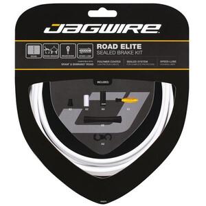 Jagwire Road Elite Sealed Brake Cable Kit ホワイト