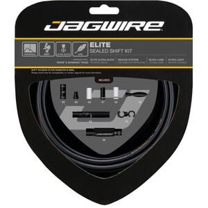 Jagwire Elite Sealed Schaltzugset stealth black stealth black