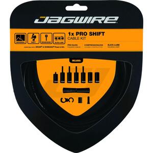 Jagwire 1X Pro Shift Schaltzugset schwarz schwarz