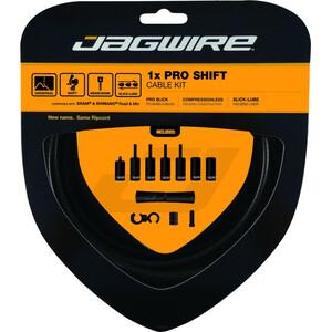 Jagwire 1X Pro Shift Set de câble de dérailleur, noir noir