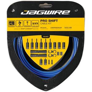 Jagwire 2X Pro Shift Shift Cable Set ブルー