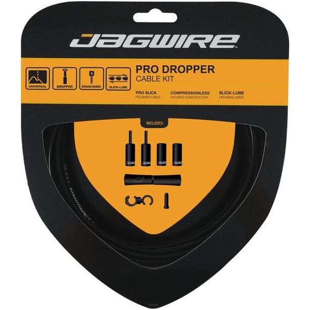 Jagwire Pro Dropper Variostützenzugset schwarz