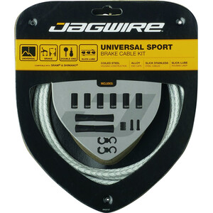 Jagwire Sport Universal Brake Cable Set (Shimano/SRAM用) ホワイト