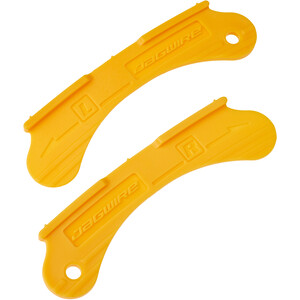 Jagwire Bremsbelagseinstelllehre für Felgenbremsen gelb gelb