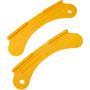 Jagwire Bremsbelagseinstelllehre für Felgenbremsen gelb