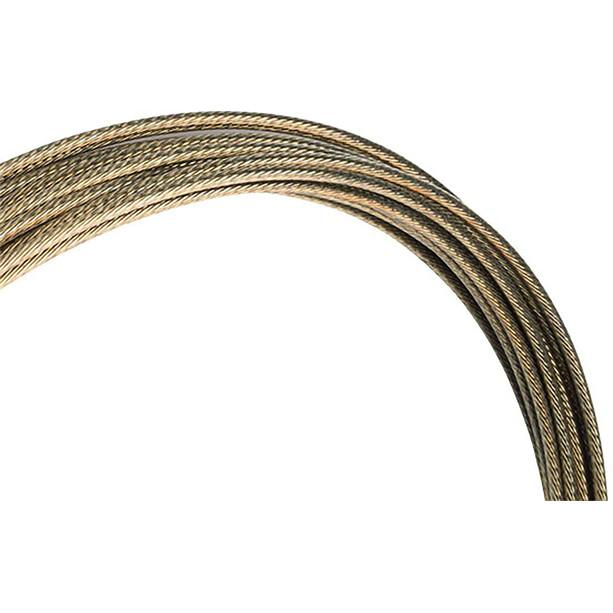 Jagwire Pro-Slick Schaltzug 2300mm für Campagnolo poliert gold