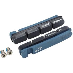 Jagwire Road Pro Bremsbeläge für Shimano/SRAM Carbon blau blau