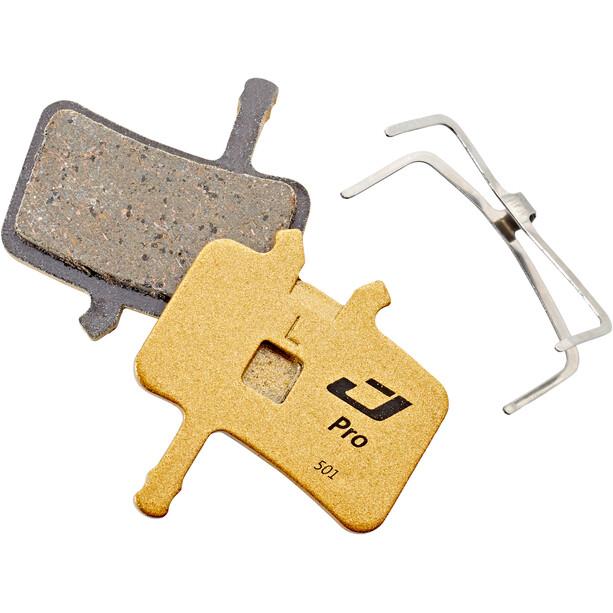 Jagwire Pro Semi-Metallic Scheibenbremsbeläge für Avid BB7/Alle Juicy Modelle 1 Paar gold