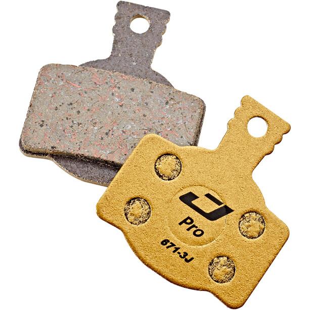 Jagwire Pro Semi-Metallic Plaquettes de frein à disque pour Magura MT8/MT6/MT4/MT2 1 Paire, Or