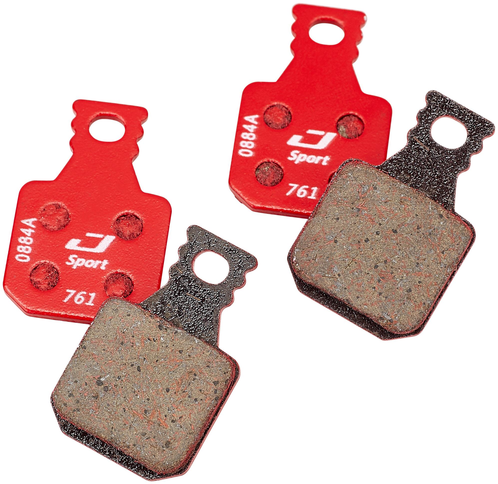 4x Bremsbelag für Magura MT5 MT7 SH901Scheibenbremsen semi-metallisch