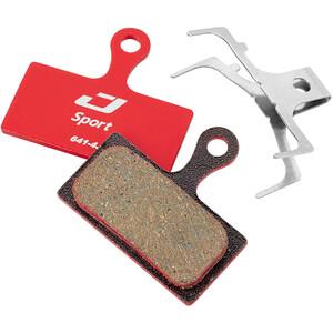 Jagwire Sport Semi-Metallic Bremsbeläge für Shimano/Rever Postmount rot rot