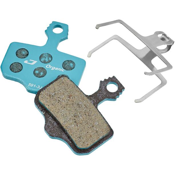 Jagwire Sport Organic Bremseklodser til SRAM niveau TL / Db1 / 3/5 / Avid Elixir R / CR / Mag / X0 / XX