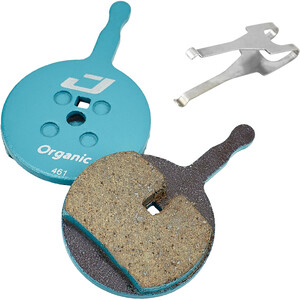 Jagwire Sport Organic Brake Pads for Avid BB5/PROmax/Render/Decipher 1 Pair blå/brun blå/brun
