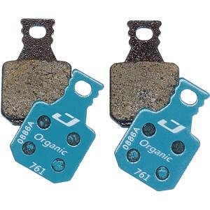 Jagwire Sport Organic Bremsbeläge für Magura MT7/MT5/MT Trail Front 1 Paar blau/braun blau/braun