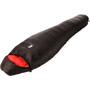 Alvivo Ibex 500 Schlafsack schwarz/rot
