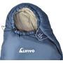 Alvivo Arctic Extreme Sac de couchage Enfant, bleu/gris