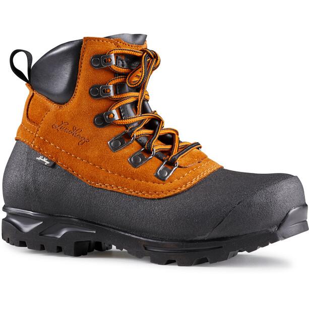 Lundhags Tjakke Light Mid Boots amber/black