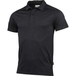 Lundhags Gimmer Merino Light Polo T-Shirt Herren schwarz schwarz