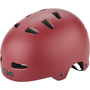 TSG Evolution Solid Color Helm rot rot