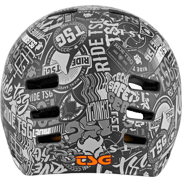 TSG Evolution Graphic Design Helm Kinder stickerbomb