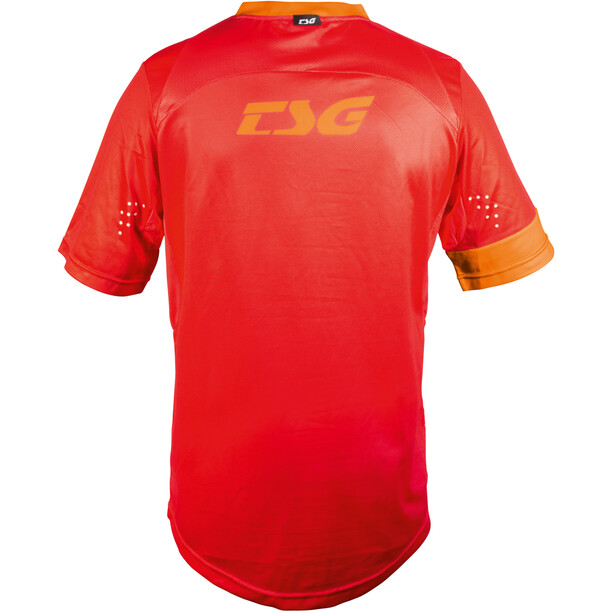 TSG SP3 Kurzarm Trikot Herren red-acid orange