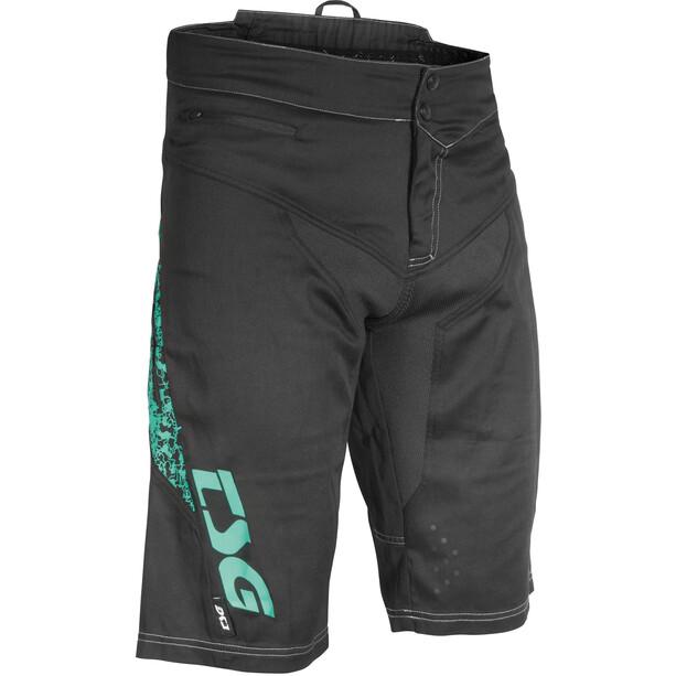 TSG MJ2 Shorts Herren black-turquoise