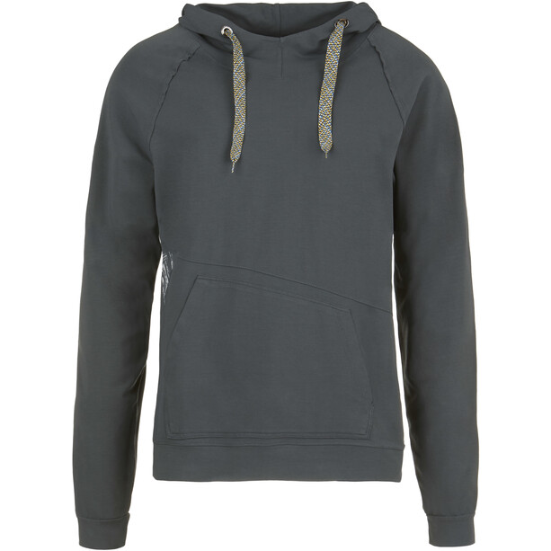 E9 Squart Fleece Hoody Herr iron