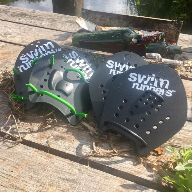 Swimrunners Version 2.0 Hand Paddles black/black