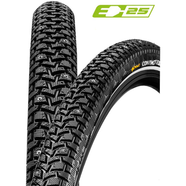 """Continental Contact Spike 120 Wired-on Tire 28x1.60"""" E-25 Reflex black"""