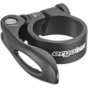 Humpert Ergotec SCQ-100 Sattelstützklemme Ø31,8mm mit Schnellspanner schwarz schwarz