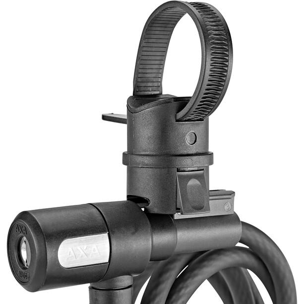 Axa Newton 150/10 Spiralkabelschloss schwarz