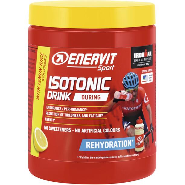 Enervit Sport Isotonic Drink 420g mit Flasche Zitrone