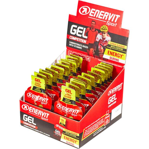 Enervit Sport Gel Box 24 x 25ml Citrus with Caffeine