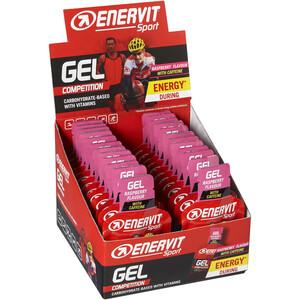Enervit Sport Gel Box 24 x 25ml Himbeere mit Koffein